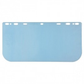 """MCR Safety® Universal PETG Face Shield, 8"""" x 16"""" x 0.042"""", Clear,"""