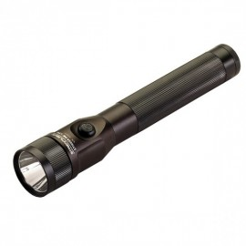 Streamlight® Stinger® DS (Dual Switch) LED Rechareable Flashlight w/ AC/DC Charger, 2 Holders, Black,