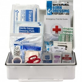 25-Person ANSI A Weatherproof First Aid Kit, Plastic,