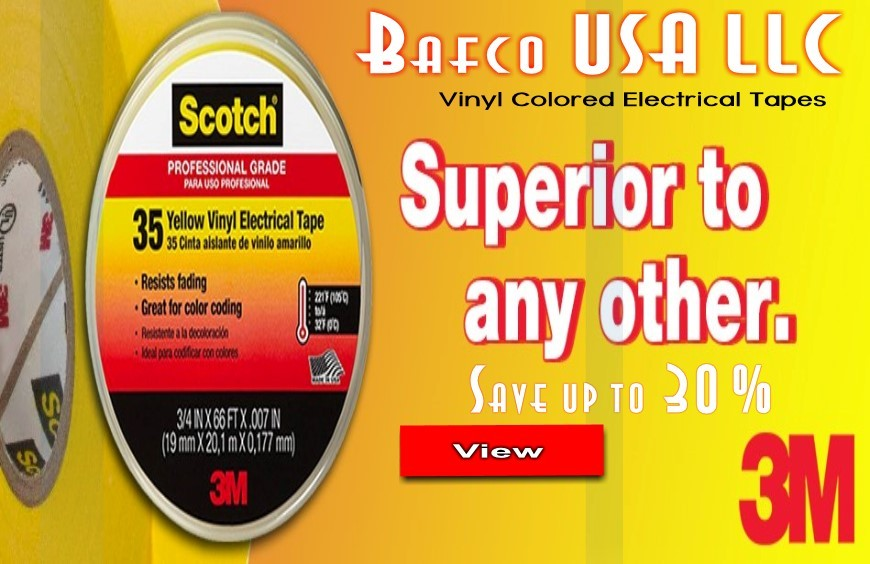 3M Brand Vinyl Electrical Tapes